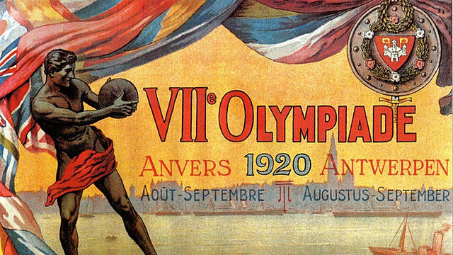 Juegos Olímpicos en Amberes, Bélgica
