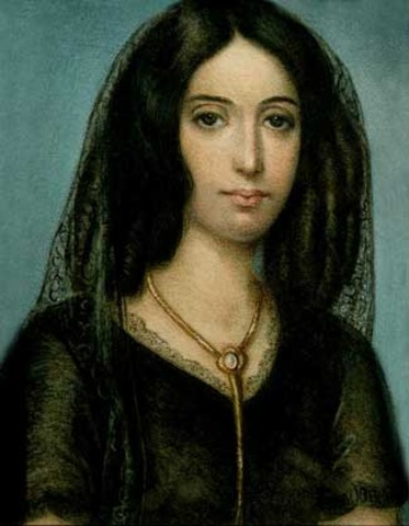 In 1837 he started a love with the French writer George Sand.