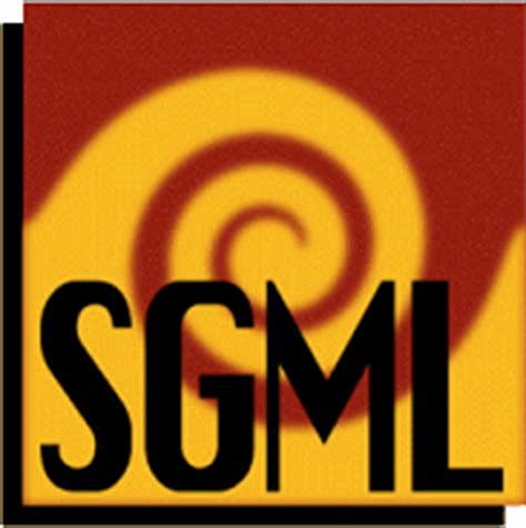Creación del lenguaje SGML