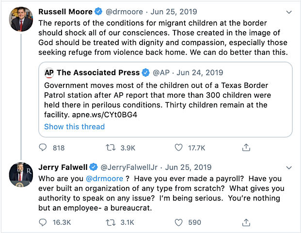 Falwell Insults Russell Moore