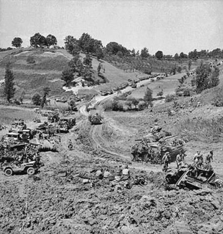 Allies capture Rome