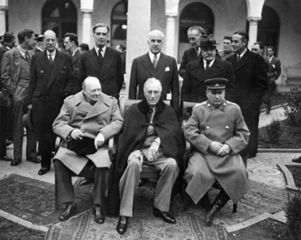 Yalta Conference begins