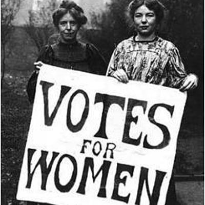 Garazi con la historia feminista timeline