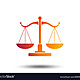 Scales of justice sign icon court of law symbol vector 20995935