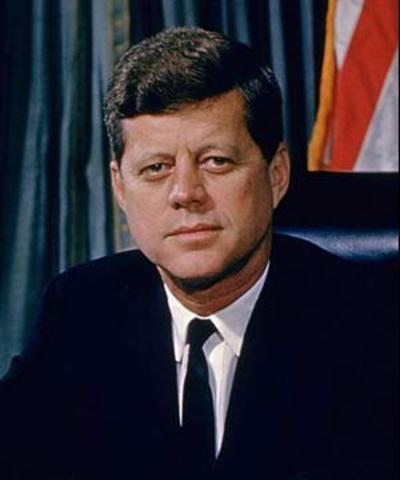 John F. Kennedy elected President