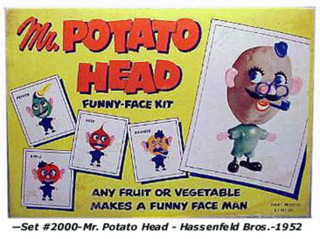 Mr. Potato Head invented