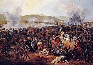 Batalla de Maipú en Chile