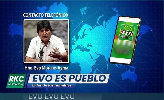 Evo Morales se dirige a sus bases por radio y admite que el bloqueo perjudica al MAS antes que beneficiarlo