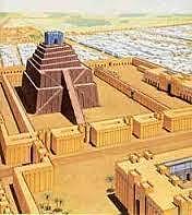 Primera organización Bancaria, el templo de Babilonia