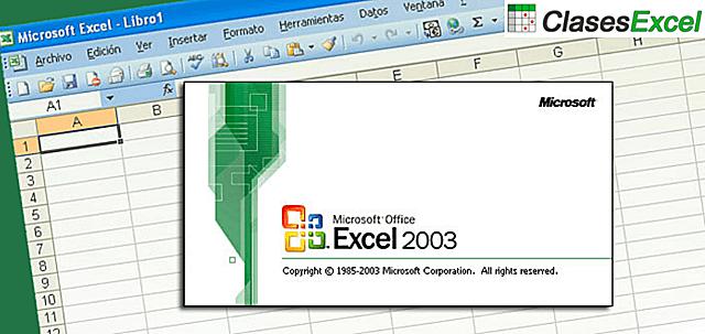 EXCEL 11.0 EXCEL 2003