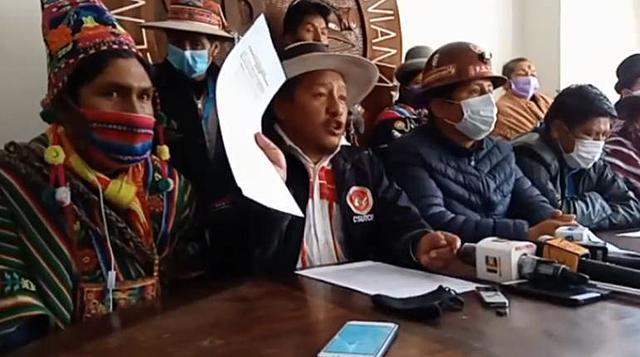 """COB y Pacto de Unidad califican ley de postergación de elecciones como """"traición"""""""