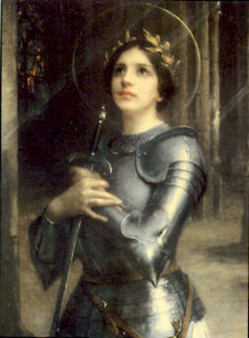 Juana de Arco hizo que Francia ganara la guerra