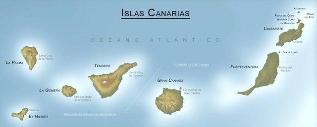 Redescubrimientos de Canarias