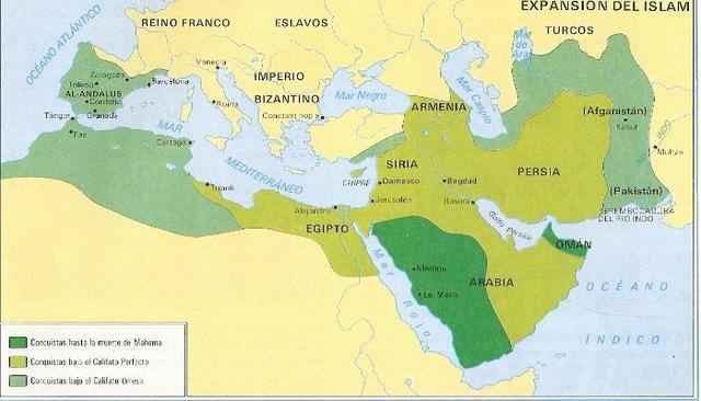 Mallorca dintre del Califat de Damasc
