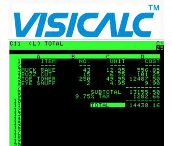 1972 VisiCalc