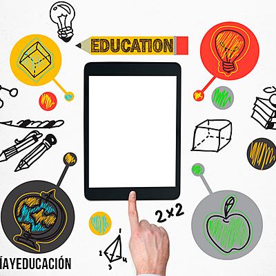 Historia de la tecnología en la educación. timeline