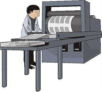 Siglo XV, la imprenta