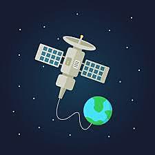 Década de 1980, Transmisiones por satélite.