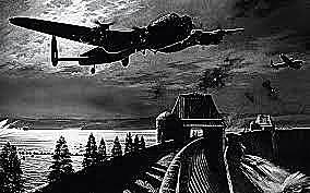 aviação alemã começa os bombardeios noturnos