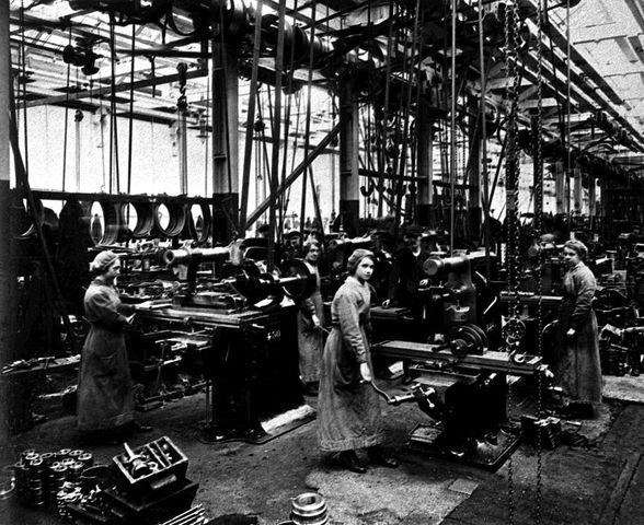Autumn - problems with women in the factories