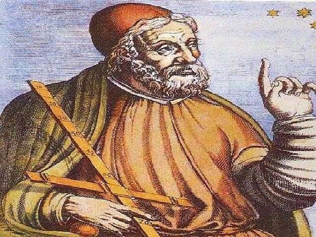 Conclusión de la tabla de cuerdas de Hiparco de Nicea