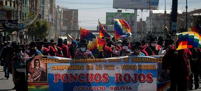 Campesinos de La Paz determinan cuarto intermedio en bloqueos