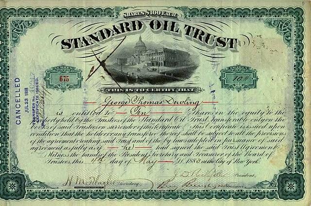 The Organization of Standard Oil Trust