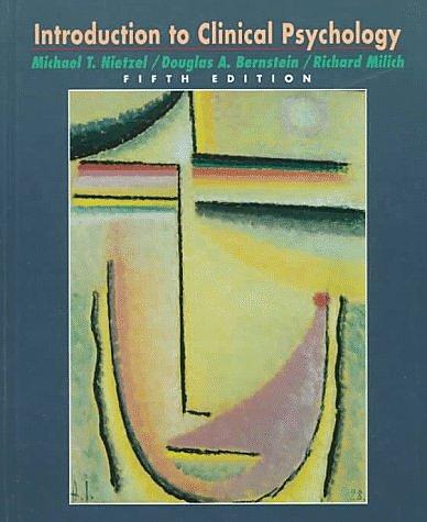 Douglas Bernstein y Richard Milich
