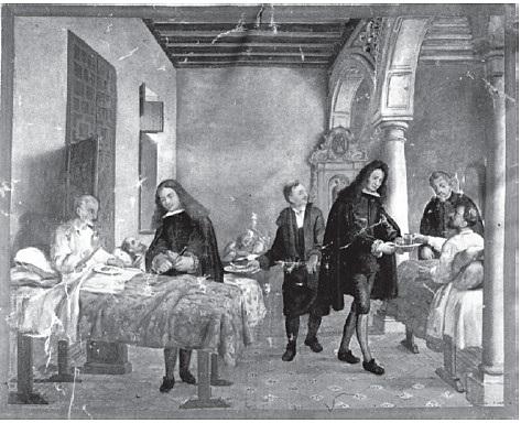 La Hospitalidad ( siglo XVL y XVLL)