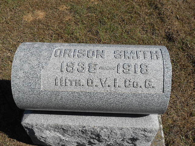 Burial of Orison Smith