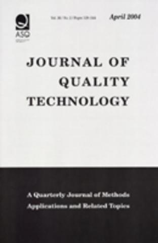 Quality Progress y Journal of Quality Technolog