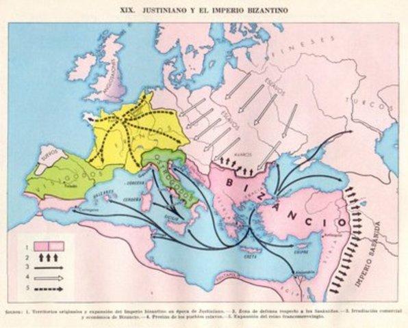 Illes Balears formen part del Imperi Bizantí