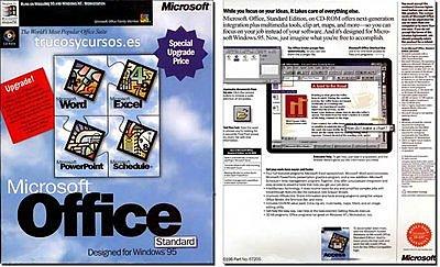 EXCEL 7.0 - EXCEL 95 - OFICINA 95