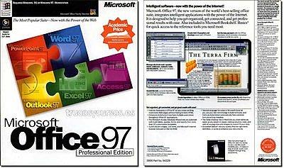 EXCEL 8.0 EXCEL 97 - OFICINA 98