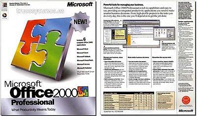 EXCEL 9.0 EXCEL 2000 - OFICINA 2000