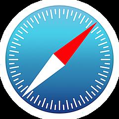 Safari, Apple dispone de su propio navegador web.