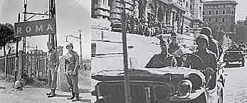 Os aliados entram em Roma.