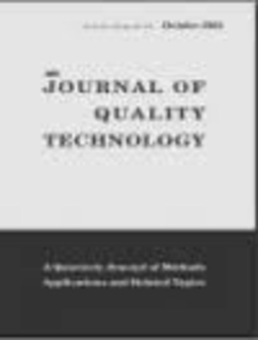 Journal of Quality Technology