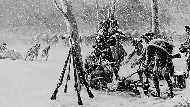 Winter at Valley Forge