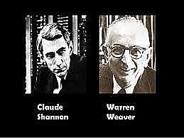 Claude Shannon y Warren Weaver