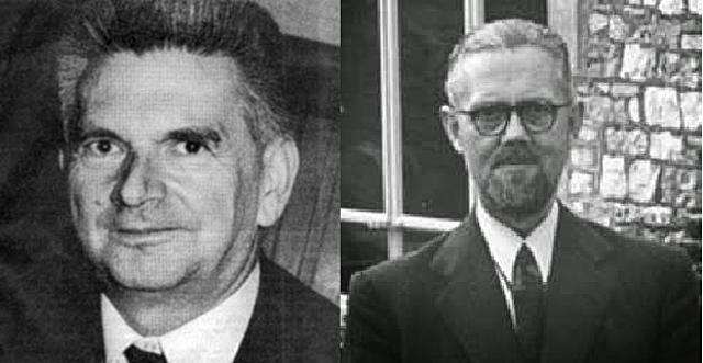 René Thom y Christopher Zeeman