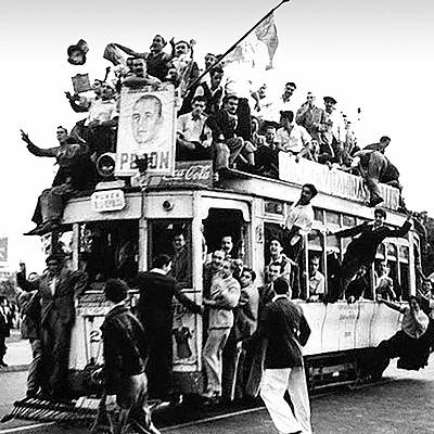Surgimiento del movimiento obrero en Argentina: dos modelos de acumulación (1860-1955) timeline