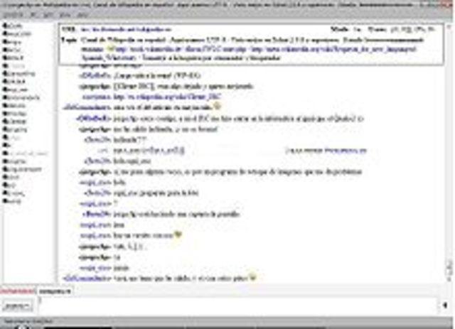 IRC (Internet Relay Chat) es un protocolo de comunicación en tiempo real basado en texto, que permite debates entre dos o más personas