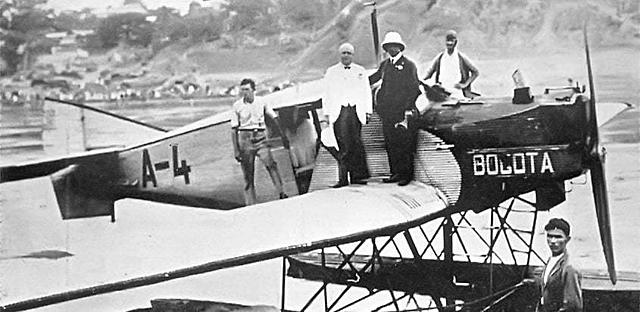Compañía Colombiana de Navegación Aérea.