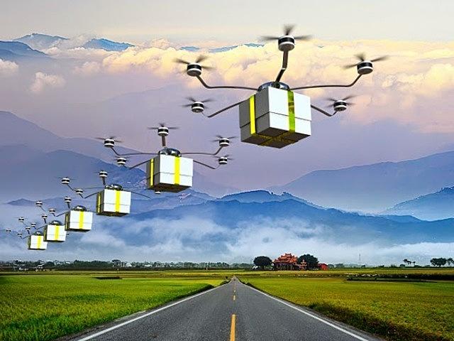 DRONES AUTONOMO