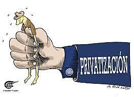 Políticas de privatización