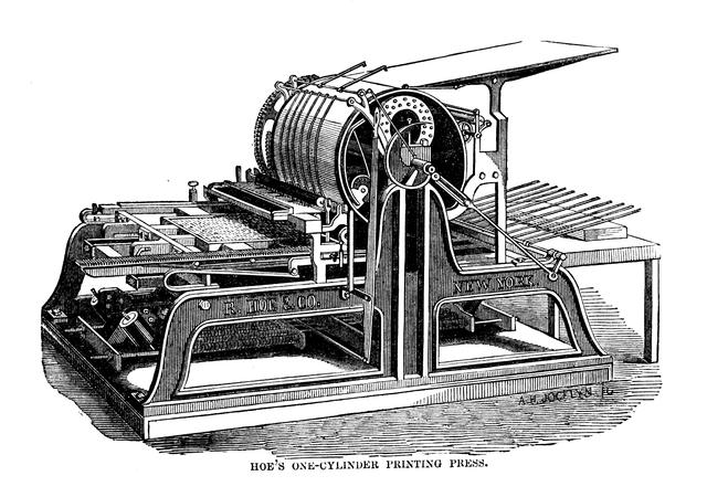 Cylinder Printing Press