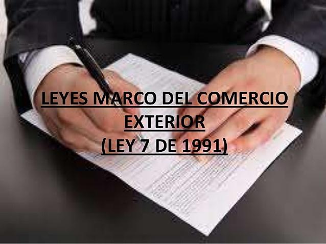 "LEY 7 ""Ley Marco"""