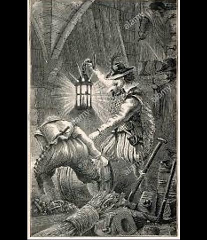 Discovery of the gunpowder