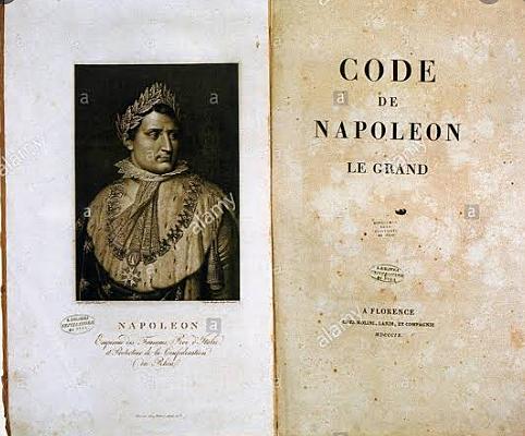 SIGLO XIX: CODIGO DE NAPOLEON